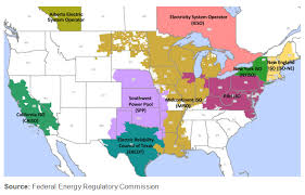 iso map map of united states of america electricity grid united states