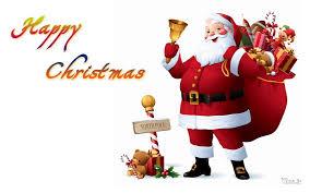 merry santa claus images wallpapers santa gif