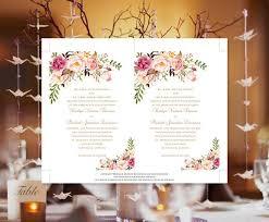 make your own invitations printable wedding invitation blossoms make your own diy