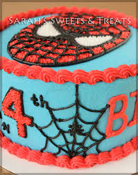 spiderman birthday sarah u0027s sweets u0026 treats
