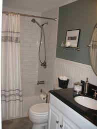 Bathrooms With Shower Curtains Bathroom Amusing Bathroom Remodel Ideas On A Budget Amazing