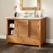 bathrooms design reclaimed wood bathroom vanity modern sliding