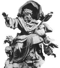 God Statue God As Smiter