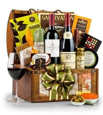 wine baskets delivered around the world wine chest gift basket wine gift and birthdays