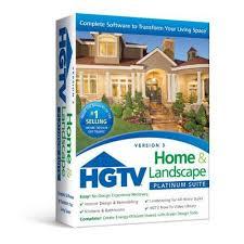 hgtv home design software 5 0 hgtv home landscape platinum suite 3 0 walmart com