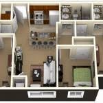 house plan 25 more 3 bedroom 3d floor plans house plan for 3