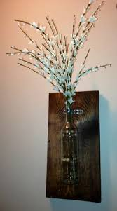 Vase Wall Sconce Driftwood Vintage Bottle Wall Sconce Vase Reclaimed Pinterest