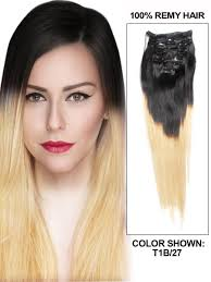 human hair clip in extensions inch graceful ombre hair clip in remy human hair extensions two