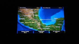 Aeromexico Route Map by