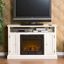 Entertainment Center With Electric Fireplace Wonderful White Electric Fireplace Entertainment Center Bookshelf