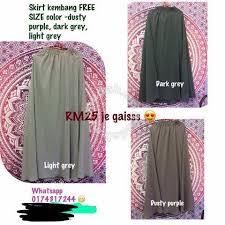 skirt labuh skirt labuh free size clothes for sale in cheras kuala lumpur