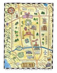 Reno Map Cartophilia Maps And Map Memorabilia July 2011