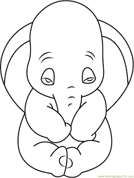 Precious Moments Halloween Coloring Pages Sad Dumbo Coloring Page Free Dumbo Coloring Pages