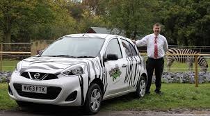 nissan micra rally car nissan micra hits the road to help publicise the wild place
