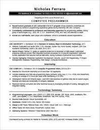 entry level resumes sle computer programmer resume entry level creative resume