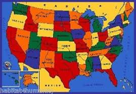 map usa buy 5 x 7 usa map area rug children s educational buy 2 or more
