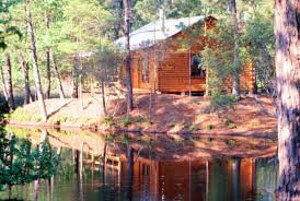 log cabin house cabins the retreat at artesian lakes
