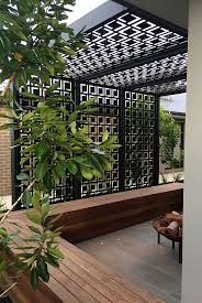 backyard privacy screen design home outdoor decoration