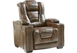Brown Recliner Chair Living Room Reclining Chairs Rocker U0026 Power Recliners