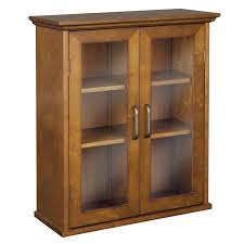 Wood Cabinet Glass Doors Bathroom Cabinet With Glass Doors Bathroom Cabinet With Frosted