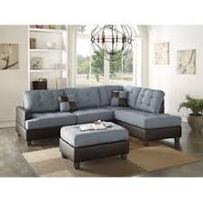 Tufted Sectional With Chaise Sectional Couches U0026 Sofas Kmart
