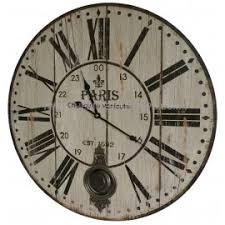 horloges murales cuisine horloge murale de salon en bois pendule à balancier de cuisine