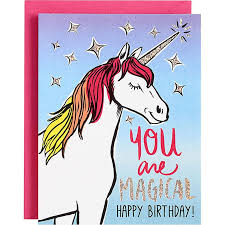 you are magical unicorn birthday card u2013 the unicorn store