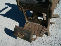 Vintage Barber Chairs For Sale Late 1800 U0027s Victorian Koken Wooden Barber Chair
