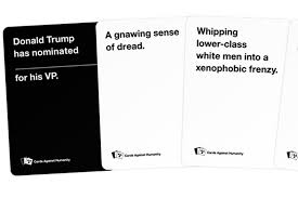 words against humanity cards cards against humanity s co founders on the struggle to find humor