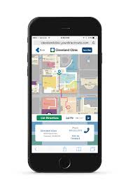 Map Of Cleveland Clinic Cleveland Clinic Wayfinding Web App Redesigned On Behance