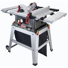 craftsman sliding table saw craftsman 10 table saw with laser trac shop your way online