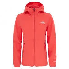 ladies nimble softshell hoodie cayenne red bear grylls uk 74 99