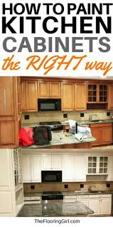 best paint finish for kitchen cabinets how to paint cabinets the right way the flooring