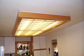 Kitchen Ceiling Lights Ideas Replace Fluorescent Light Fixture In Kitchen Step 7 Ceiling
