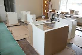 install kitchen base cabinets house tweaking