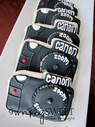 simplysweet treat boutique retirement camera cookies