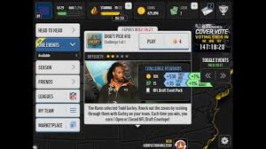 Challenge Open Or Closed Madden Mobile Nfl Draft Winston Mariota Gurley Open Vs Closed