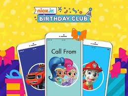 happy birthday wishes phone call nick jr birthday club