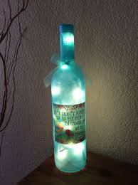 Gifts Home Decor Wine Bottle Light Mother U0027s Day Gift Home Decor Recycled