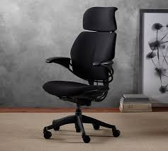 Freedom Office Desk Humanscale Freedom Task Chair With Headrest Pottery Barn