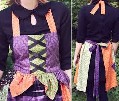 wicked halloween apron sew4home