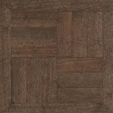 Laminate Flooring Calculator In Feet Trafficmaster Brown Wood Parquet 12 In X 12 In Peel And Stick