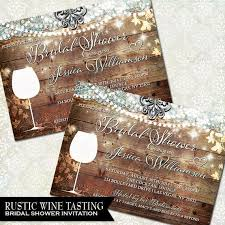 vineyard wedding invitations rustic bridal shower invitation vineyard wedding shower invite
