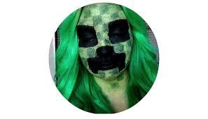 Minecraft Creeper Halloween Costume Minecraft Creeper Halloween Cosplay Tutorial