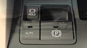 nx electric parking brake and brake hold youtube