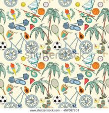 sports wrapping paper seamless sport 2016 pattern can stock vector 454626085