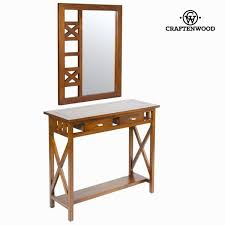 Rustic Hallway Table Rustic Hallway Table With Mirror Serious Line Collection By