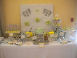 baby shower centerpieces for tables 31 baby shower decorating ideas with gray yellow theme
