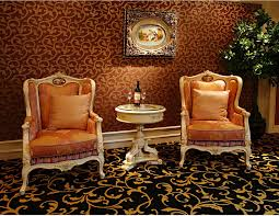 vanity table for living room luxury french rococo style living room armchair with coffee table