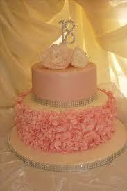 pretty 18th birthday cake for pretty design by elina prawito